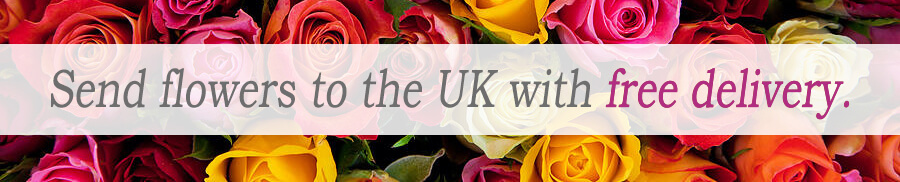 Fresh Flowers to send to the UK from Flying Flowers