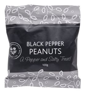 Picture of Black Pepper Peanuts 100g