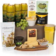Picture of Cheese with Cider Gift Basket