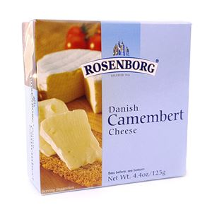 Picture of Rosenborg Camembert Cheese 125g (GF)
