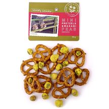 Picture of Mini Pretzels & Wasabi Peas 50g