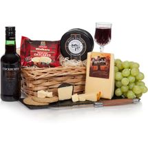 Picture of Quarter Port & Cheese Hamper