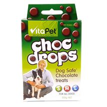 Picture of Choc Drops - Pet Dog Treats