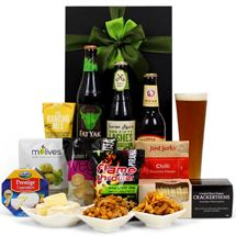 "Picture of Beer ""N Nibbles Hamper"