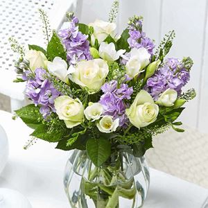 Picture of Pretty Roses & Freesias