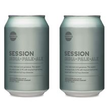 Picture of Two Cans of Sawmill Session IPA 330ml