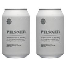 Picture of Two Cans of Sawmill Pilsner 330ml